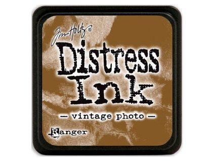 Distress Ink - VINTAGE PHOTO / mini - razítkovací barva
