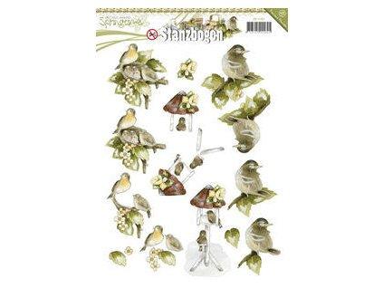 Precious Marieke - Springtime - A4 / předvyseknuté motivy