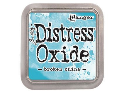 th distress oxide broken china