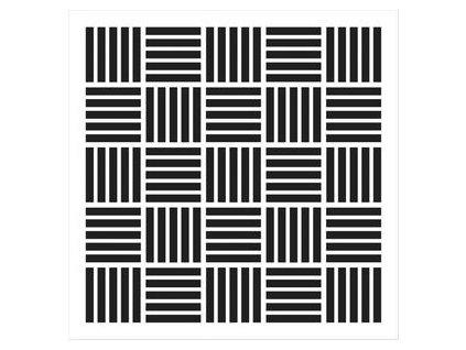 """TCW / MINI MOD CHECKERBOARD 6x6"""" - šablona / maska"""