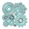 sweet dixie mask stencil spring blooms