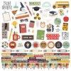 Simple Stories - SCHOOL ROCKS! - školní samolepky
