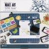 """Ranger - MAKE ART / STAY-TION 12x12"""" / Wendy Vecchi - magnetická podložka na tvoření"""