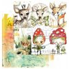 scrapbooking paper magic whispers of fairytales sheet 2 30x30