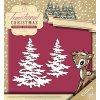 Amy Design - SNOWY TREE - vyřezávací šablona