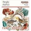 Simple Stories - VINTAGE ANCESTRY - papírové obrázky