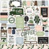 122echo park coffee friends 12x12 inch collection kit