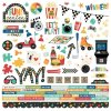 simple stories family fun cardstock sticker 15601