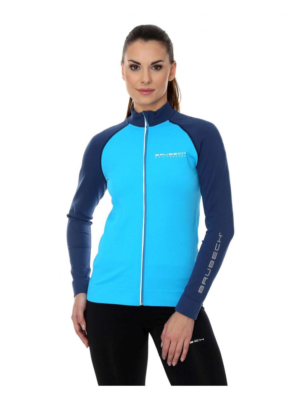 Brubeck dámská mikina Athletic (Barva Malinová, Velikost XL)