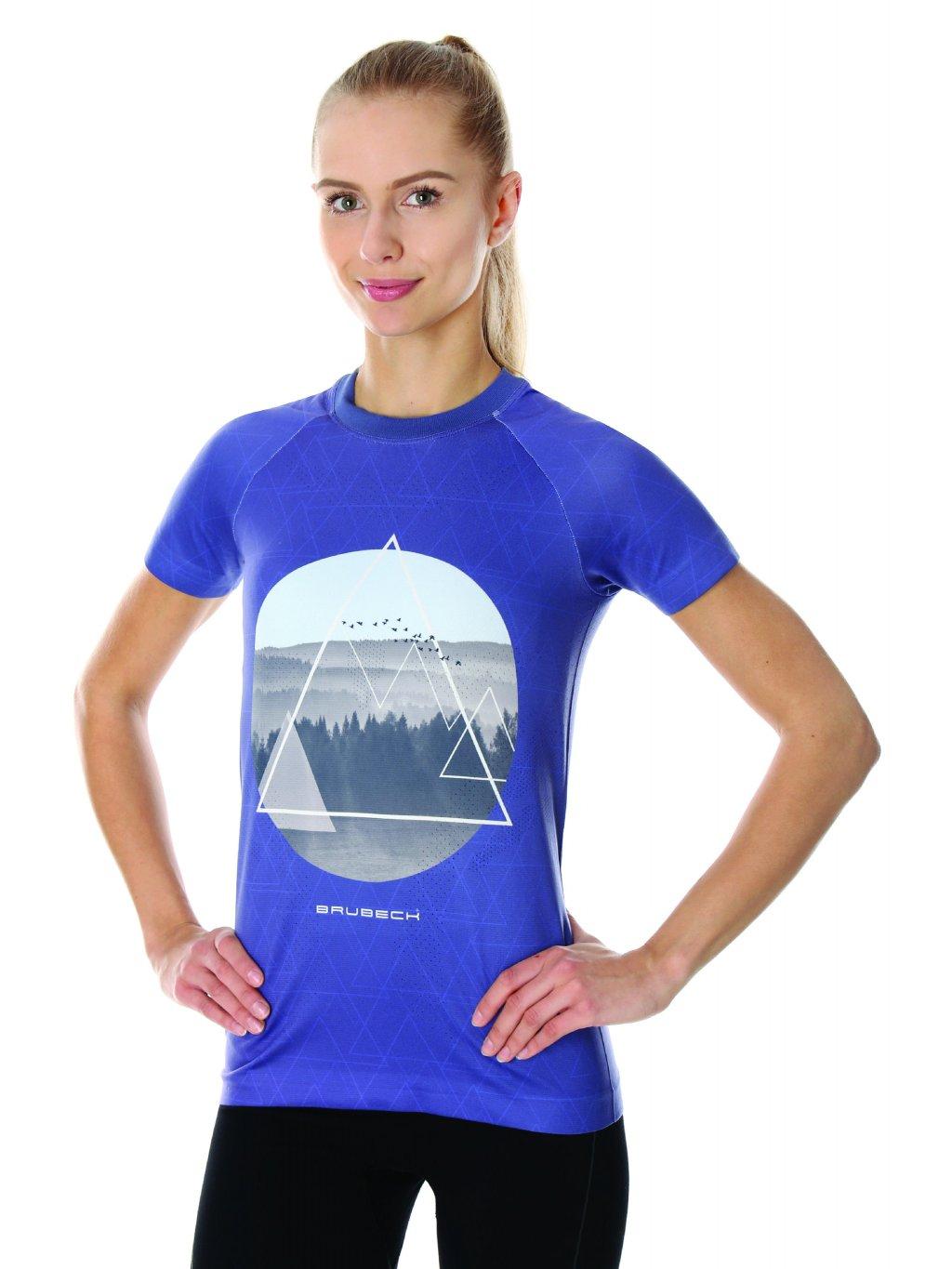 Brubeck dámské tričko s krátkým rukávem City (Barva Bílá, Velikost XL)