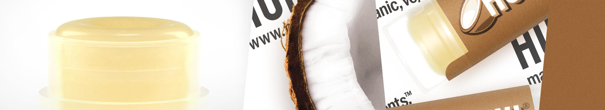 Hurraw balzám na rty kokos