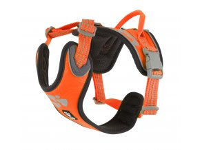 Hurtta Weekend Warrior harness neon orange