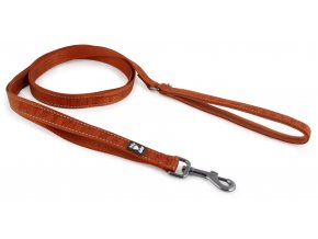 Hurtta Casual reflective leash cinnamon
