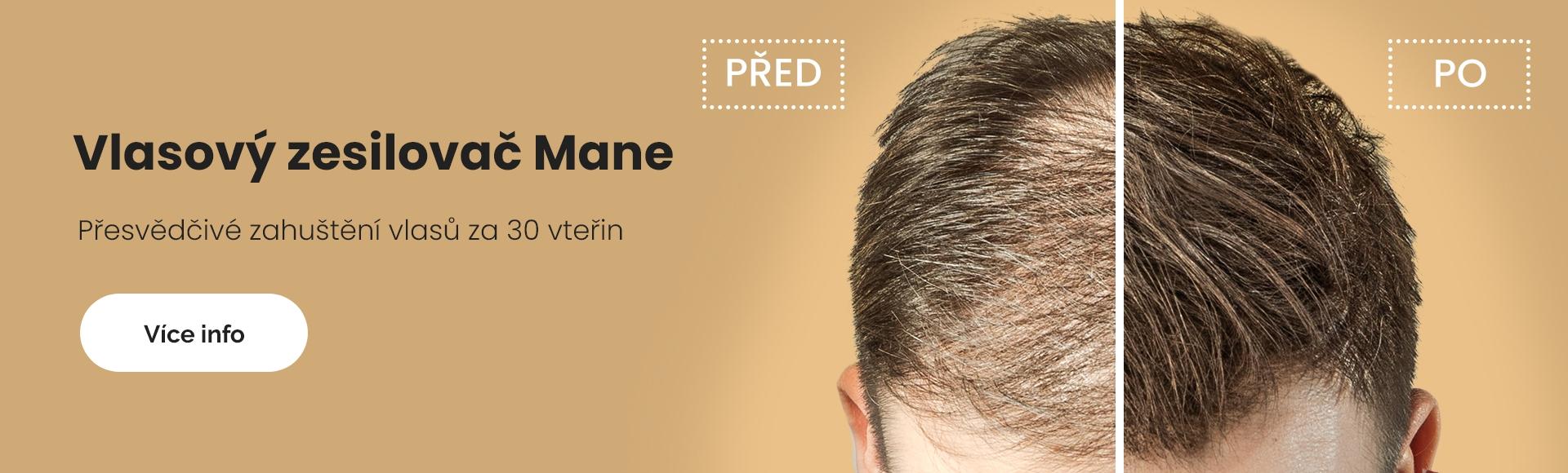 Zahušťovač vlasů pro husté vlasy