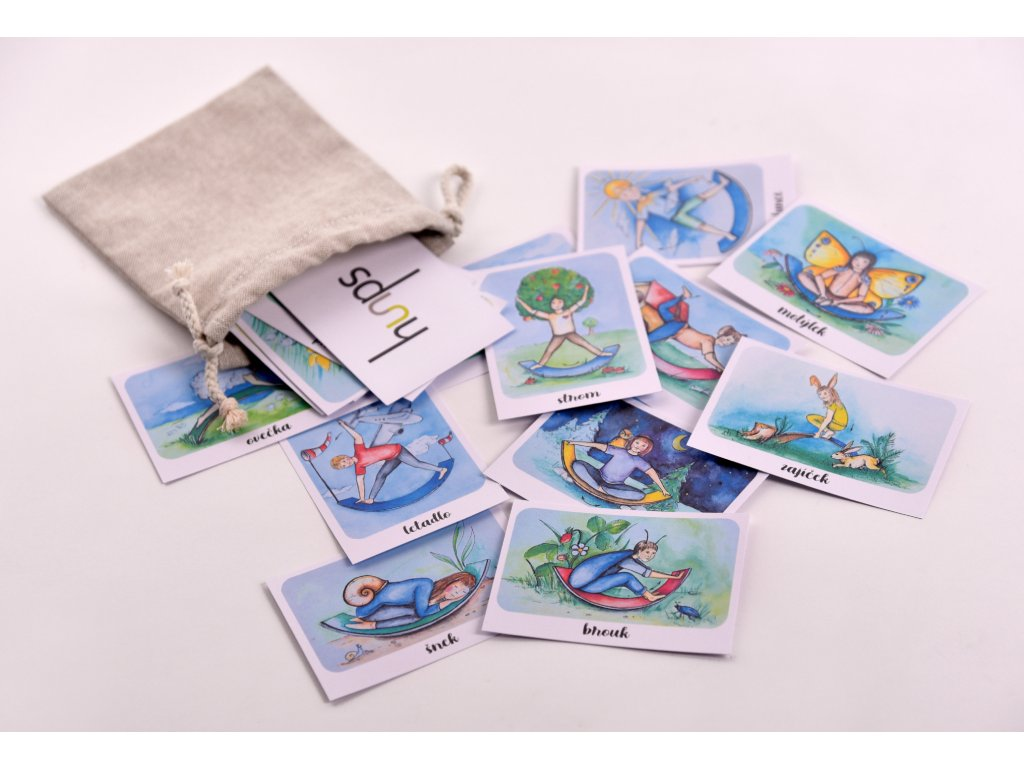 Houpací kartičky HUUPS 24 ks