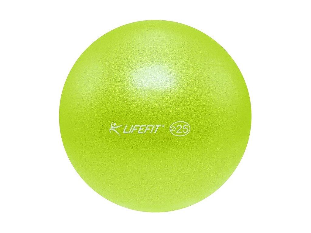 Míč OVERBALL LIFEFIT 25 cm, světle zelený