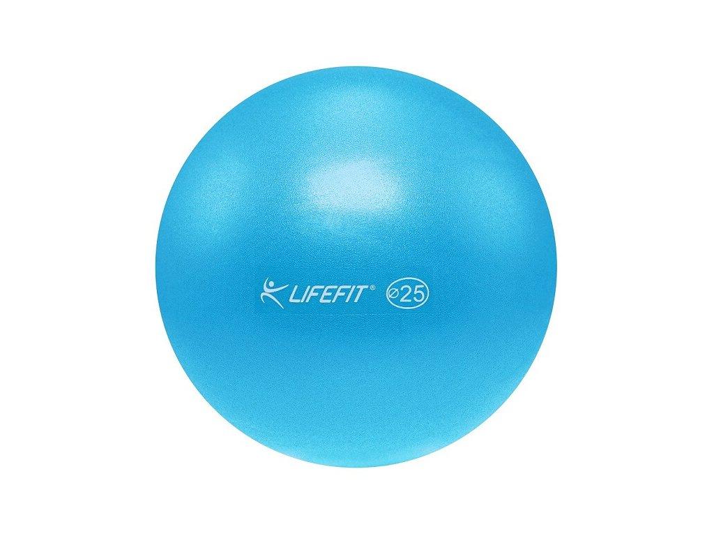 Míč OVERBALL LIFEFIT 25 cm, světle modrý