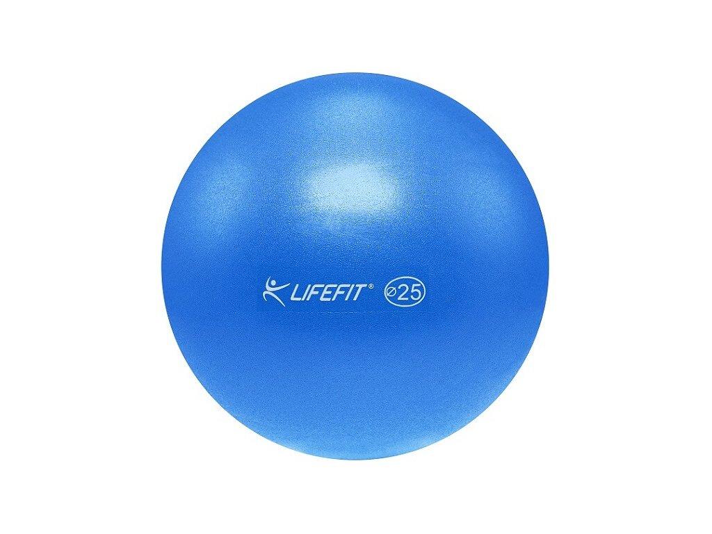 Míč OVERBALL LIFEFIT 25 cm, modrý