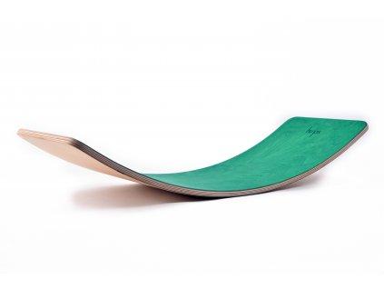 Houpací prkno barevné Starter, fotbalově zelená, olej