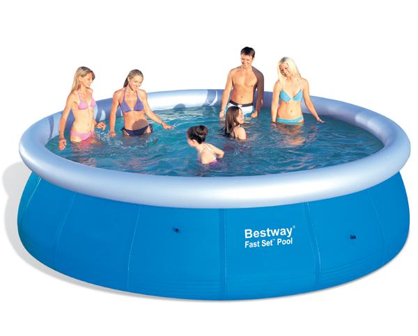 Bazény s nafukovacím okrajem