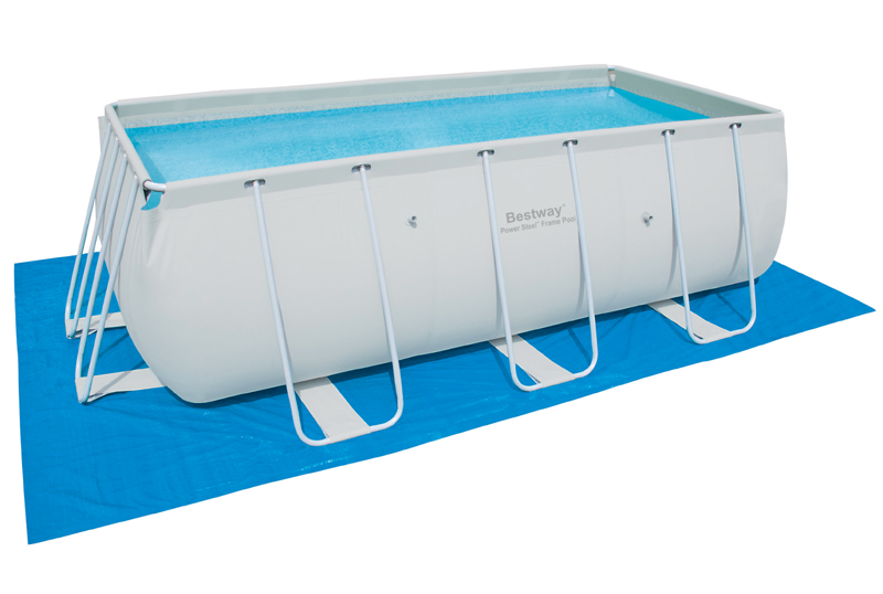 Plachty pod bazén