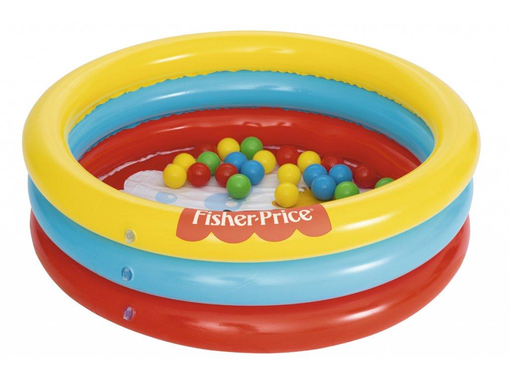 Dětský bazén Fisher Price 91 x 25 cm s míčky