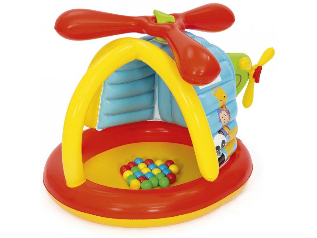 Hrací centrum helikoptéra s míčky