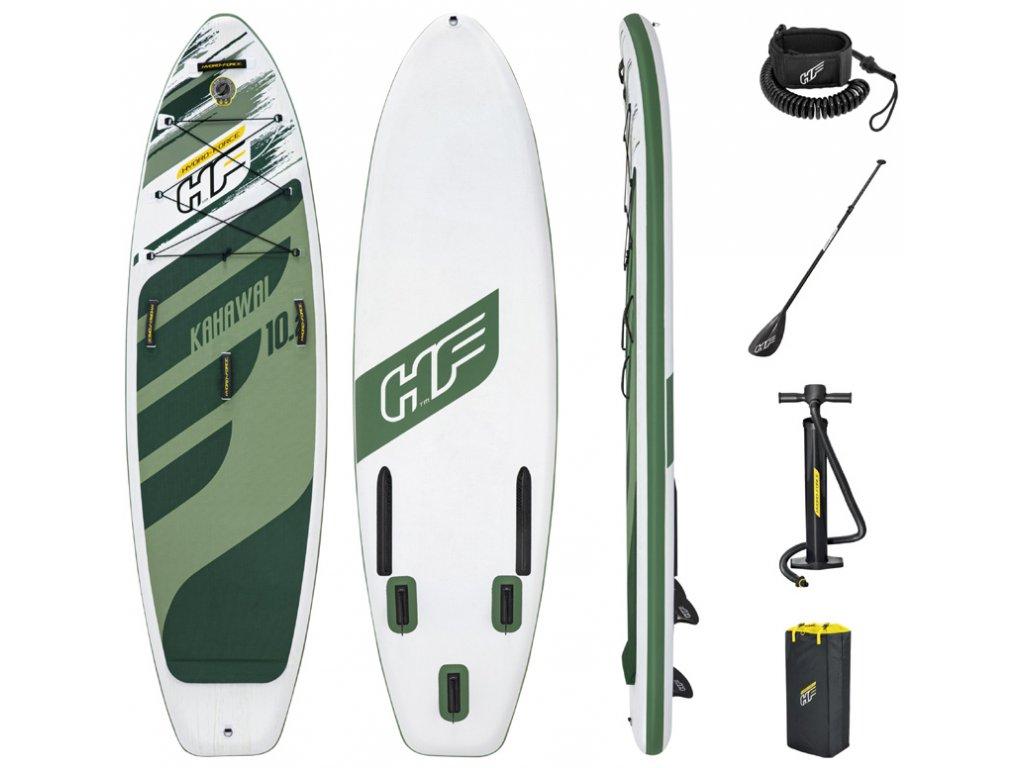 Paddleboard KAHAWAI set s pádlem, ruční pumpou a taškou