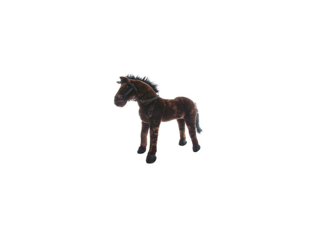 Kůň plyšový 70 x 60 x 20 cm, nosnost 100kg