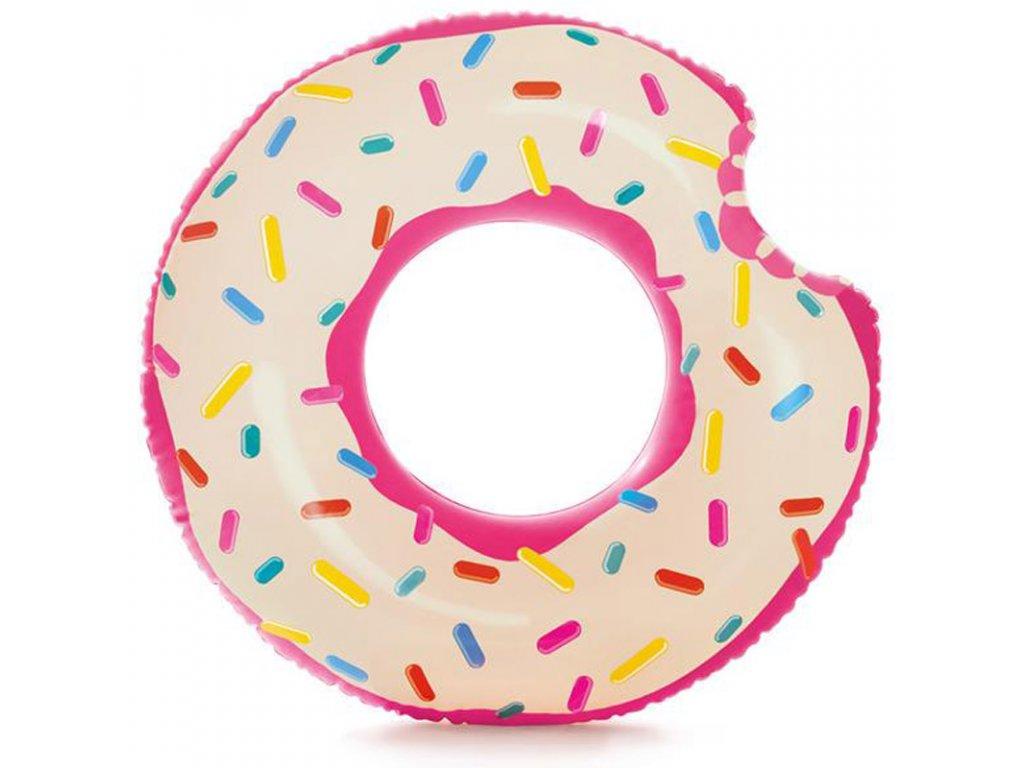 Nafukovací kruh 94 cm ukousnutý donut