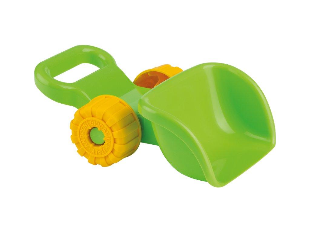 Lopatka na písek - bagrovací s kolečky