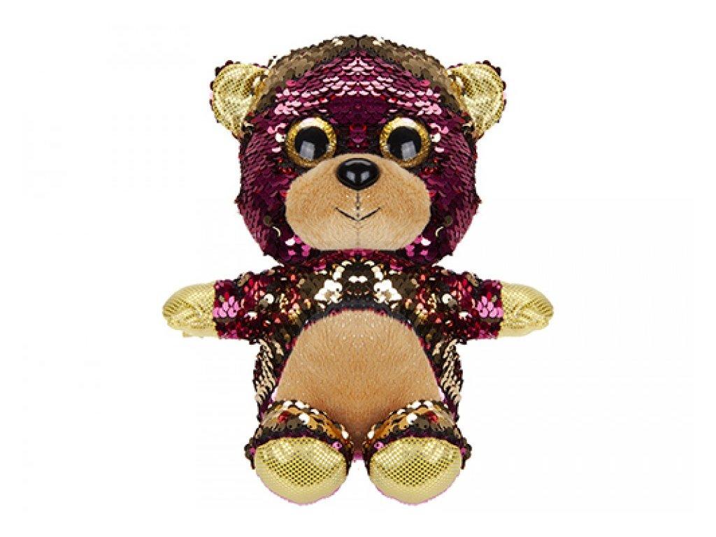 6305 plys medved zlaty 20cm