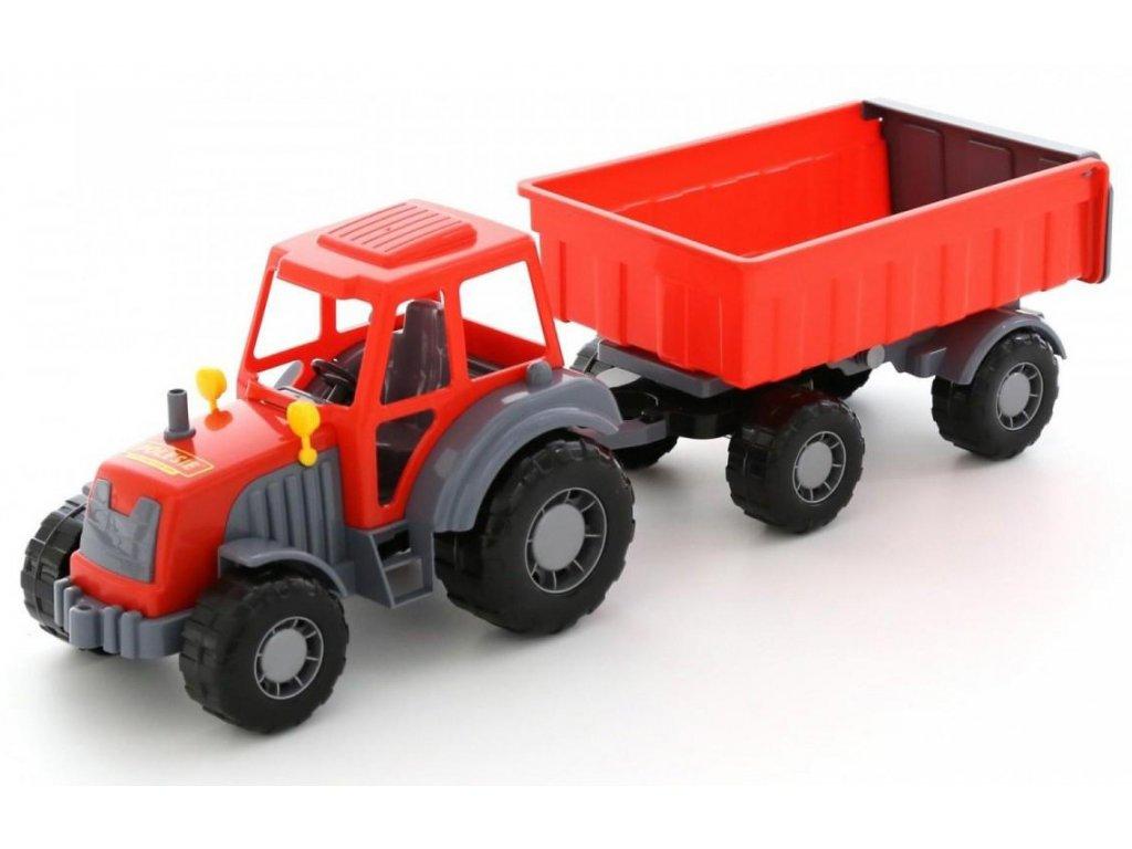 Traktor Altaj s přívěsem 51 cm