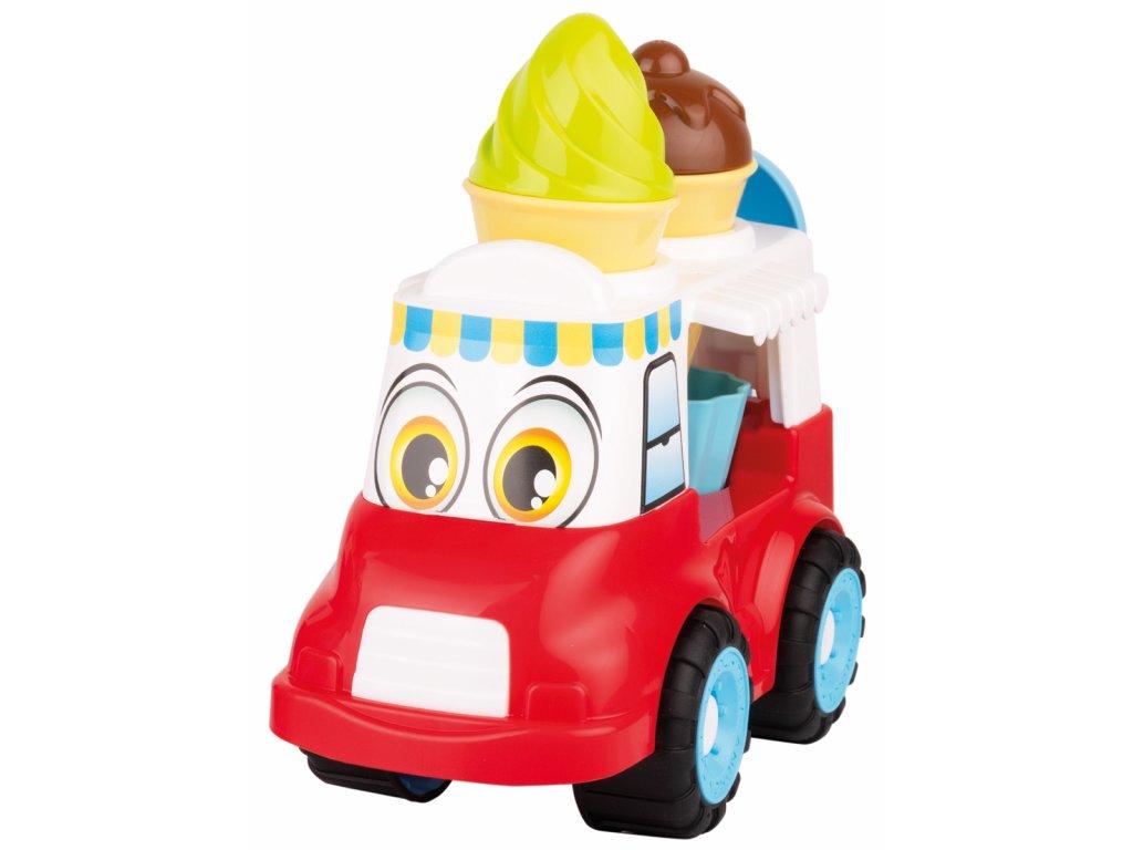 Auto s očima - zmrzlinářské auto