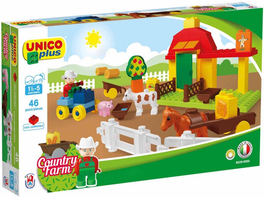 Stavebnice Unico Plus Farma 46 ks