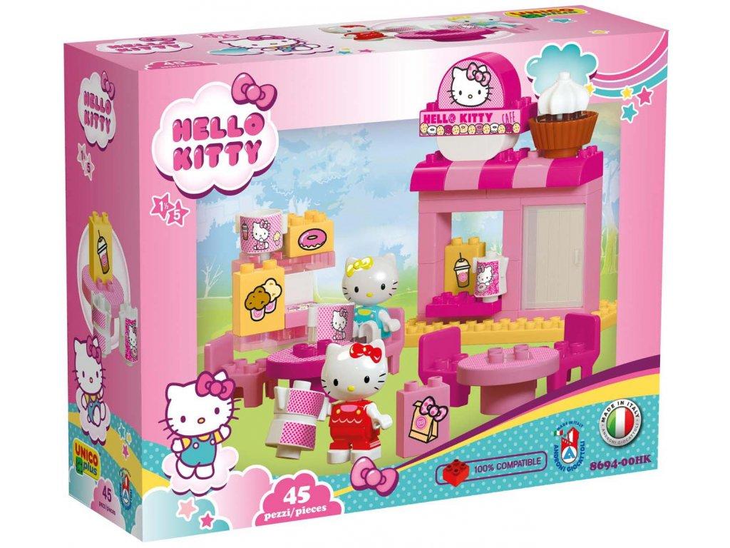 Stavebnice Unico Plus Hello Kitty 45 ks