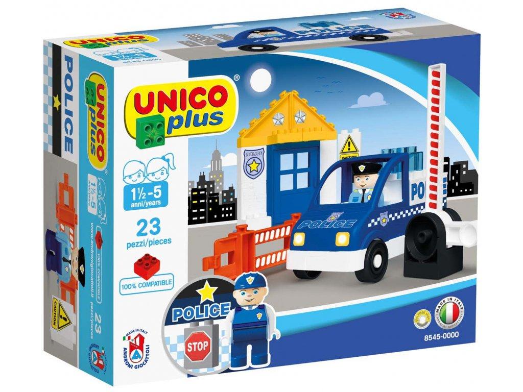 Stavebnice Unico Plus Policie 23 ks
