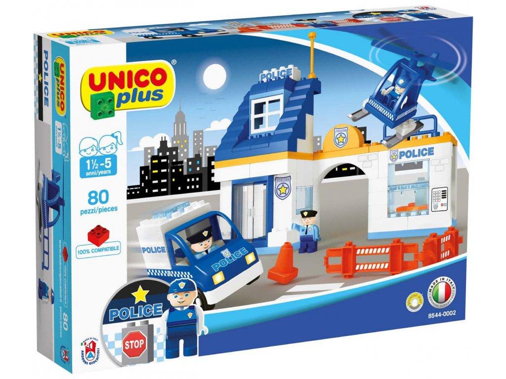 Stavebnice Unico Plus Policie 80 ks