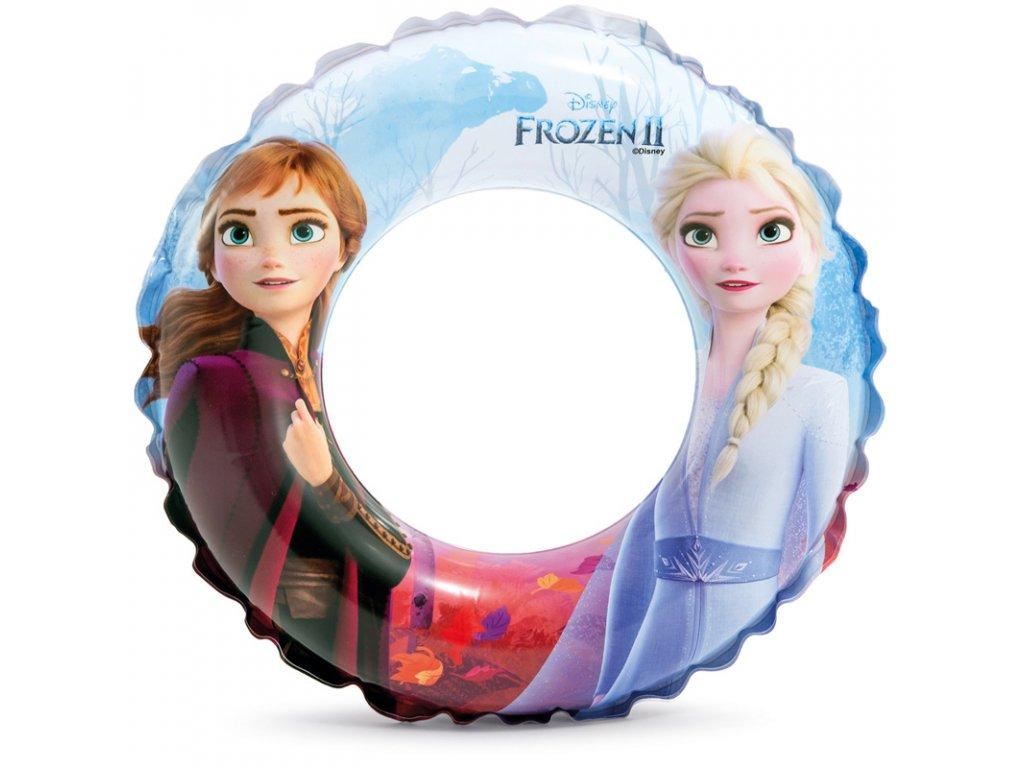 Nafukovací kruh 51 cm Ledové království