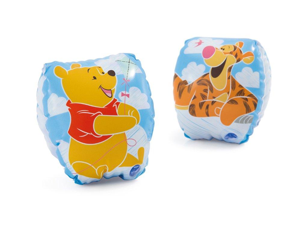 Nafukovací rukávky 1 - 3 roky Medvídek Pú