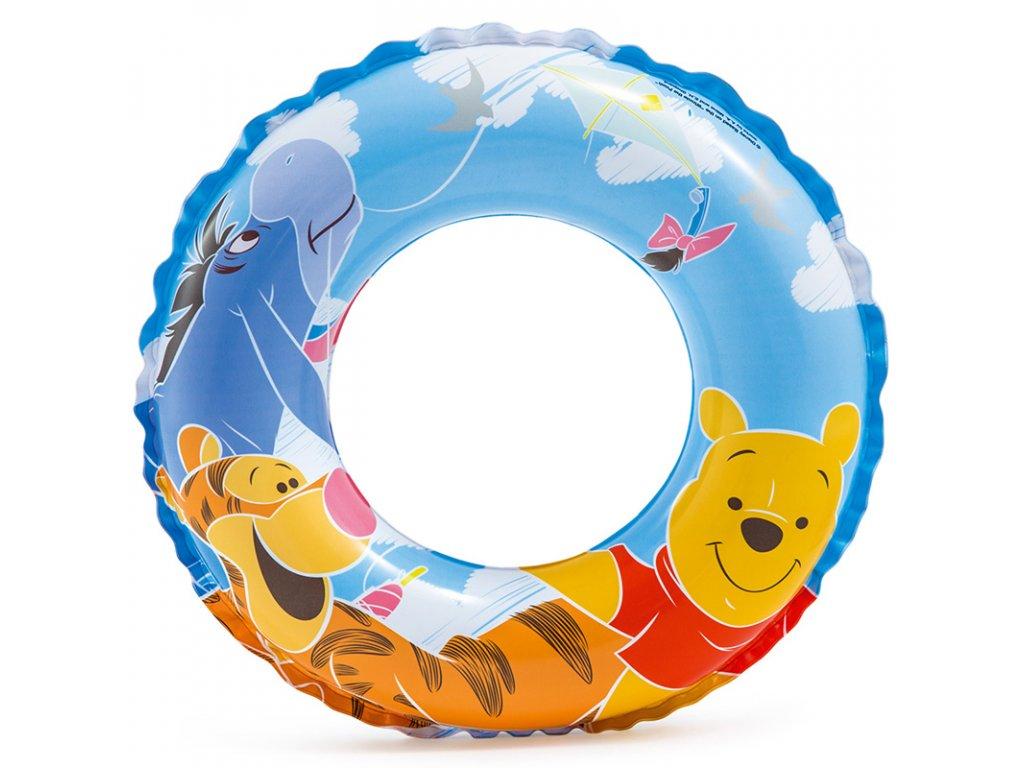 Nafukovací kruh 51 cm Medvídek Pú
