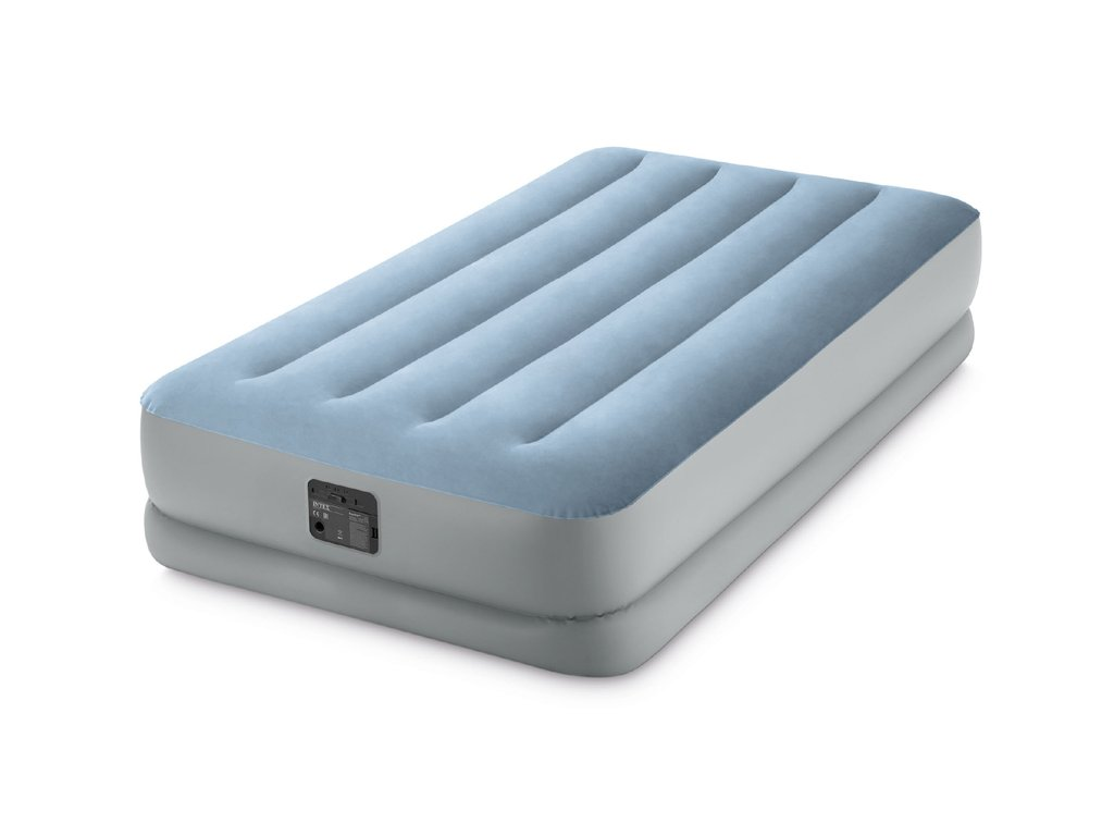 Nafukovací postel vysoká REST-COMFORT s zabudovanou elektrickou pumpou 220-240 V Twin