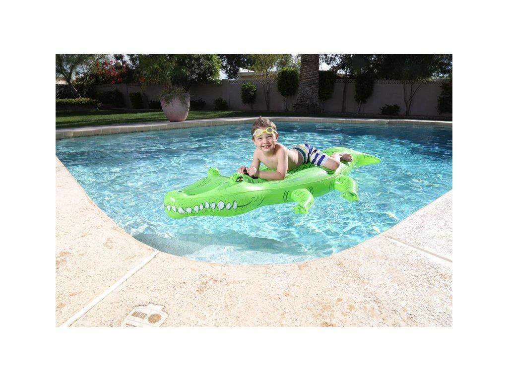 019339328 Nadzemní bazény s konstrukcí i nafukovací a hračky pro děti.