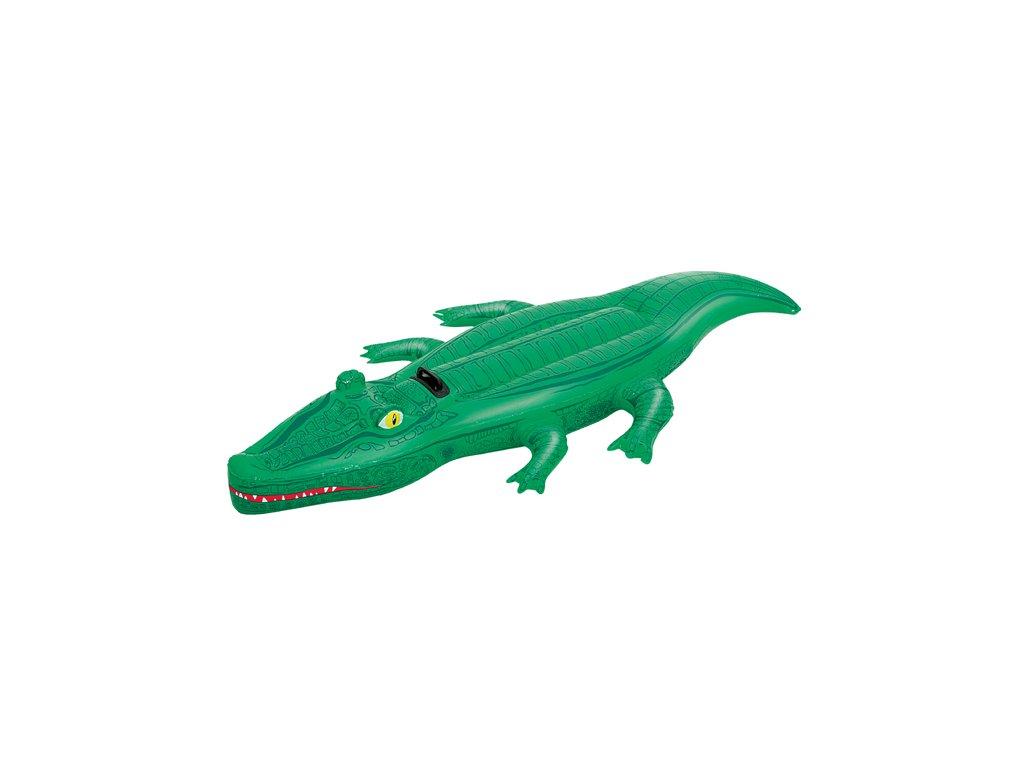 Nafukovací krokodýl 203 x 117 cm