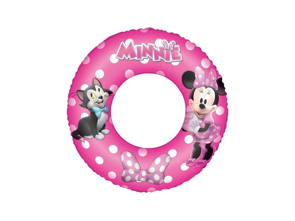 Nafukovací kruh 56 cm myška Minnie
