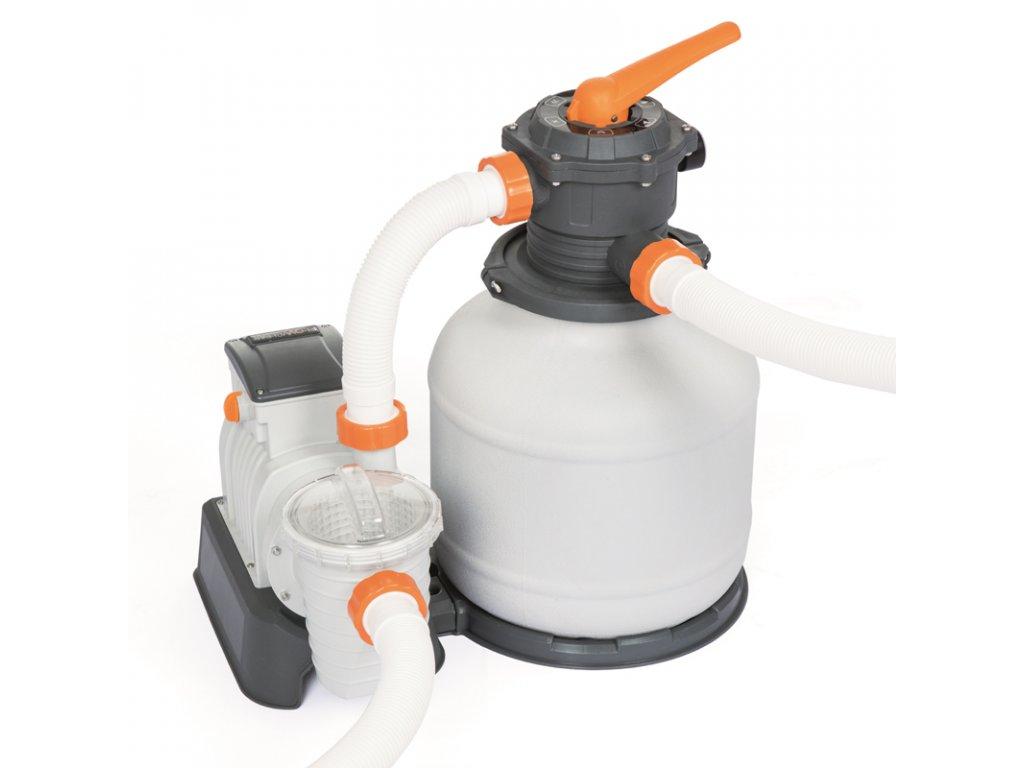 Písková filtrace BESTWAY EXPERT PLUS 8.327 l/h (6.813 l/h)