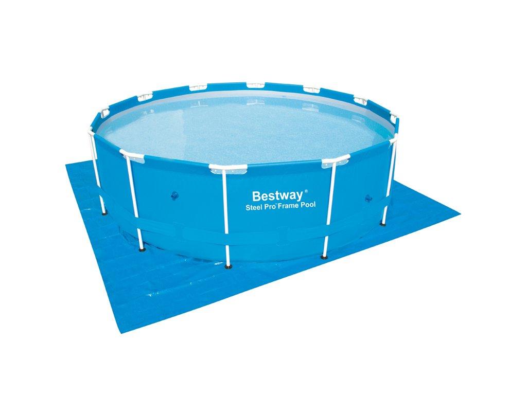 Plachta pod bazén Bestway 396 x 396 cm