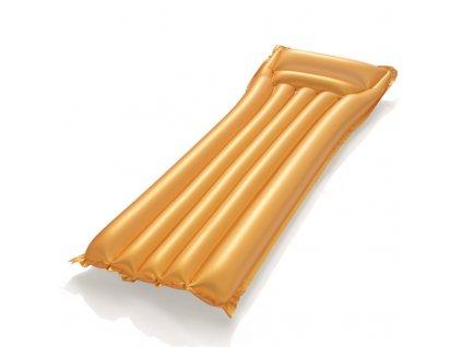 Nafukovací matrace zlatá