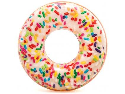 Nafukovací kruh 114 cm donut s posypem