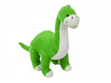 6272 plys dinosaurus pleteny zeleny 48cm